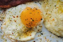 egg sunny side up with egg spice mix by unique flavors