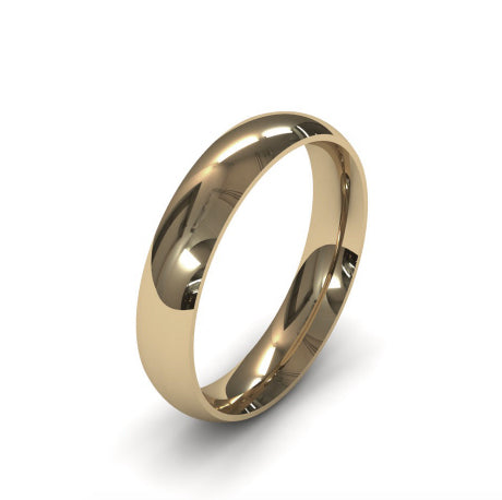 Ursa Comfort  - 9ct Gold - 4mm Gold Wedding Band