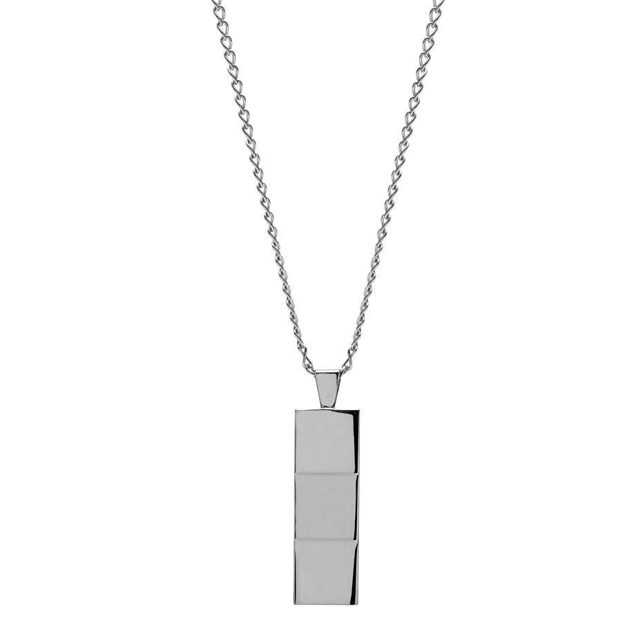 Layers Silver Pendant