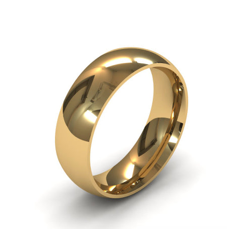 Ursa Comfort - 18ct Gold - 6mm Gold Wedding Band