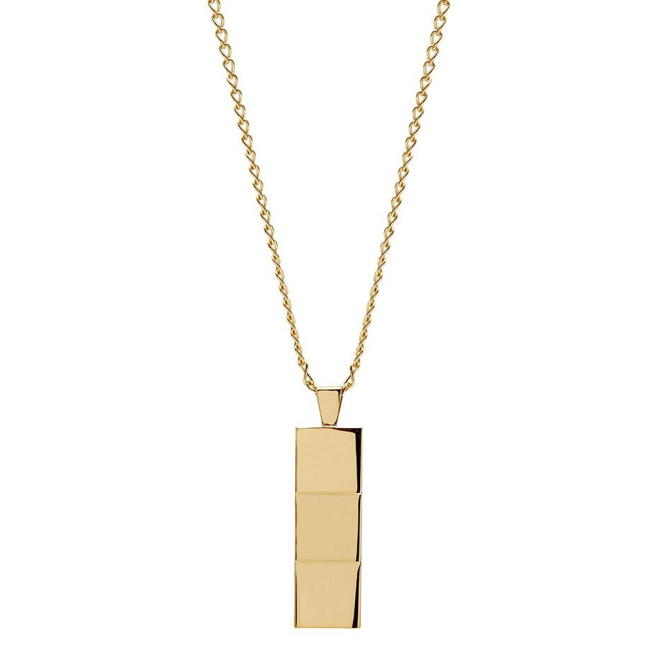 Layers Gold Pendant