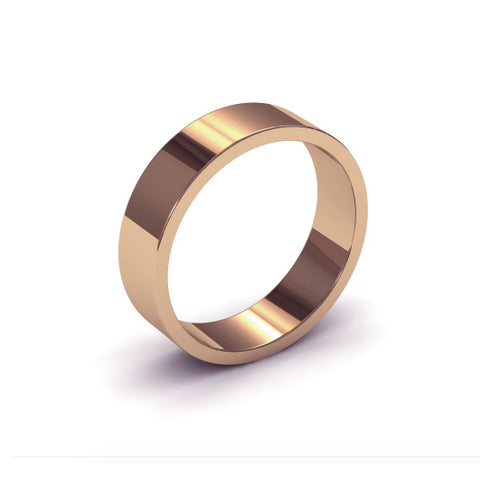 Ursa Flat - 9ct Gold - 5mm Gold Wedding Band