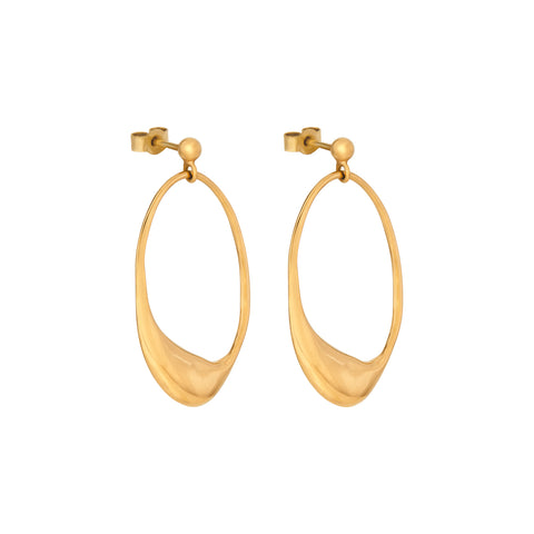 Dip Earrings Gold