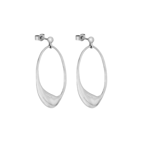 Dip Earrings Silver