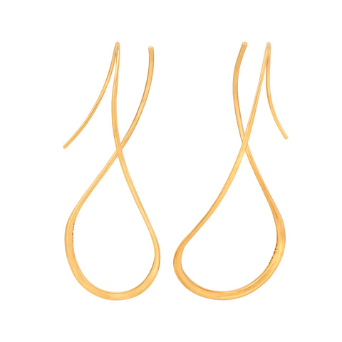 Drift Earrings Gold