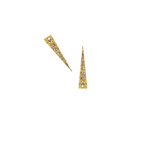 Spark diamond earrings