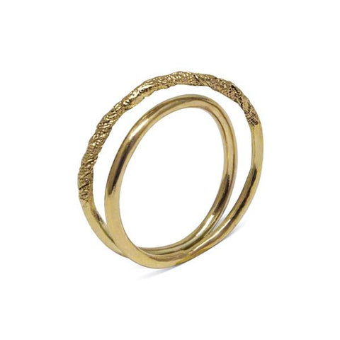 Embrace Ring in 18ct Gold