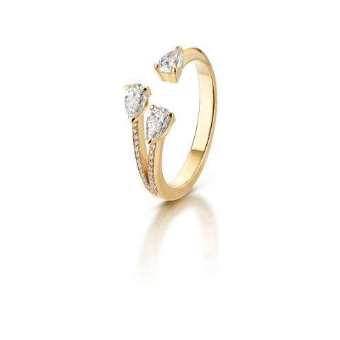 Forever Future Diamond Ring 18K Gold