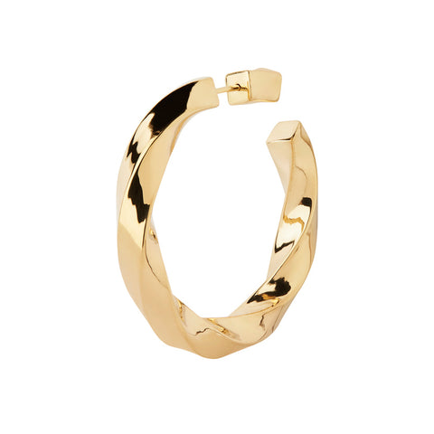 MARTINUS HOOP EARRING GOLD