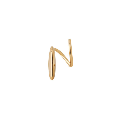 MARY TWIRL EARRING GOLD