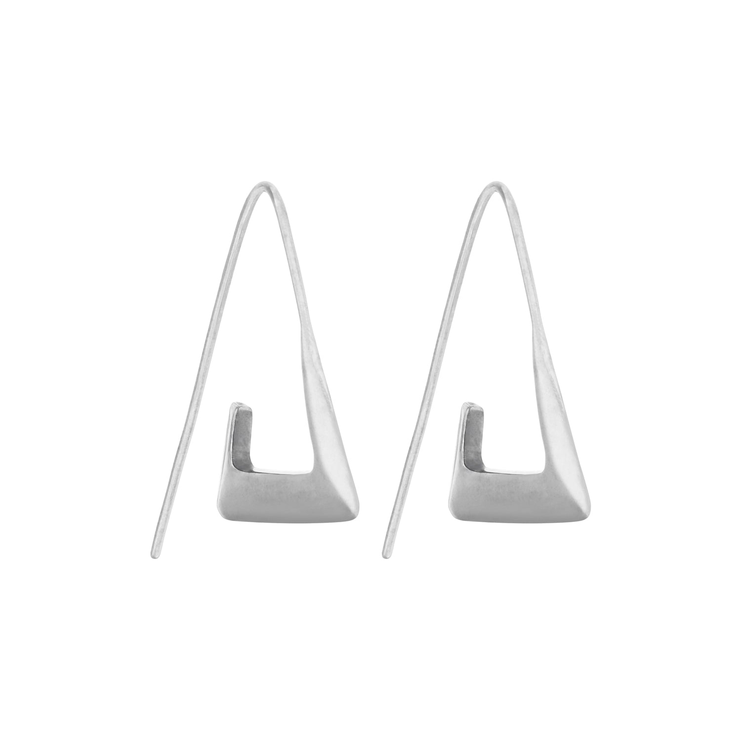 Para Earrings Silver