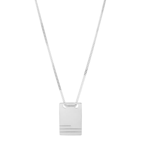ROBEN NECKLACE SILVER