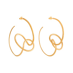 Sfera Earrings Gold