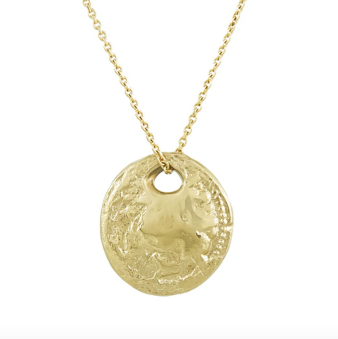 III Gold Pendant Necklace