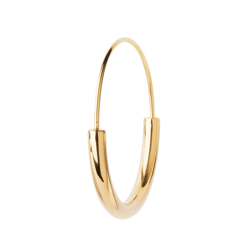 Medium Serendipty hoop gold