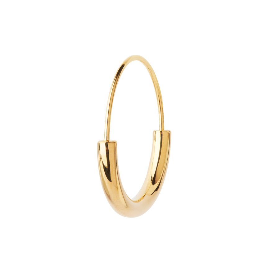 SERENDIPITY HOOP SMALL GOLD