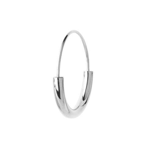 SERENDIPITY HOOP SMALL SILVER