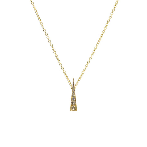 Spark diamond necklace