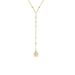 Bonnet Lariat Necklace