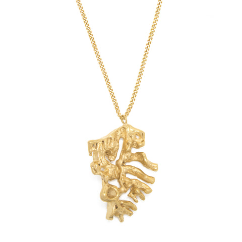 Rooster Chinese Zodiac Necklace