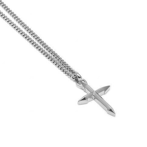 CROSS PENDANT SILVER