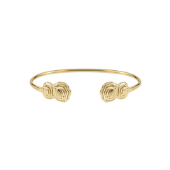 Elena Due Split Cuff Gold