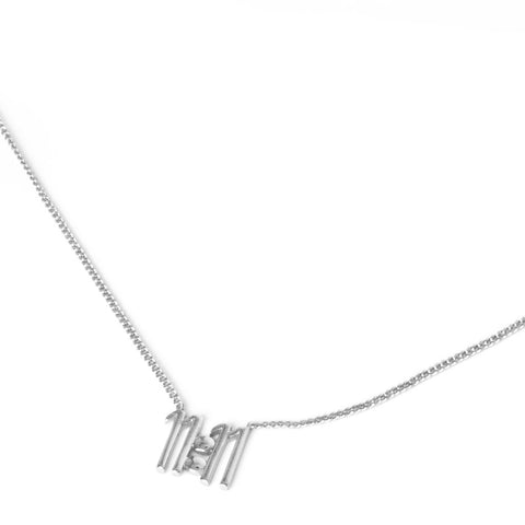 11:11 Pendant - Sterling Silver