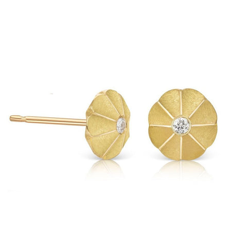 Padma Gold Diamond Studs