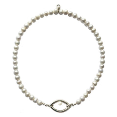 Pearl Eye Opener Necklace