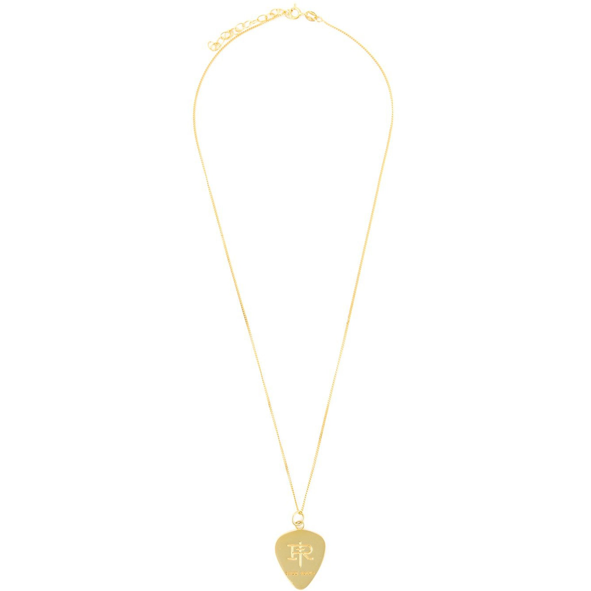 PLECTRUM PENDANT GOLD