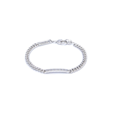 Power Tag Bracelet Silver