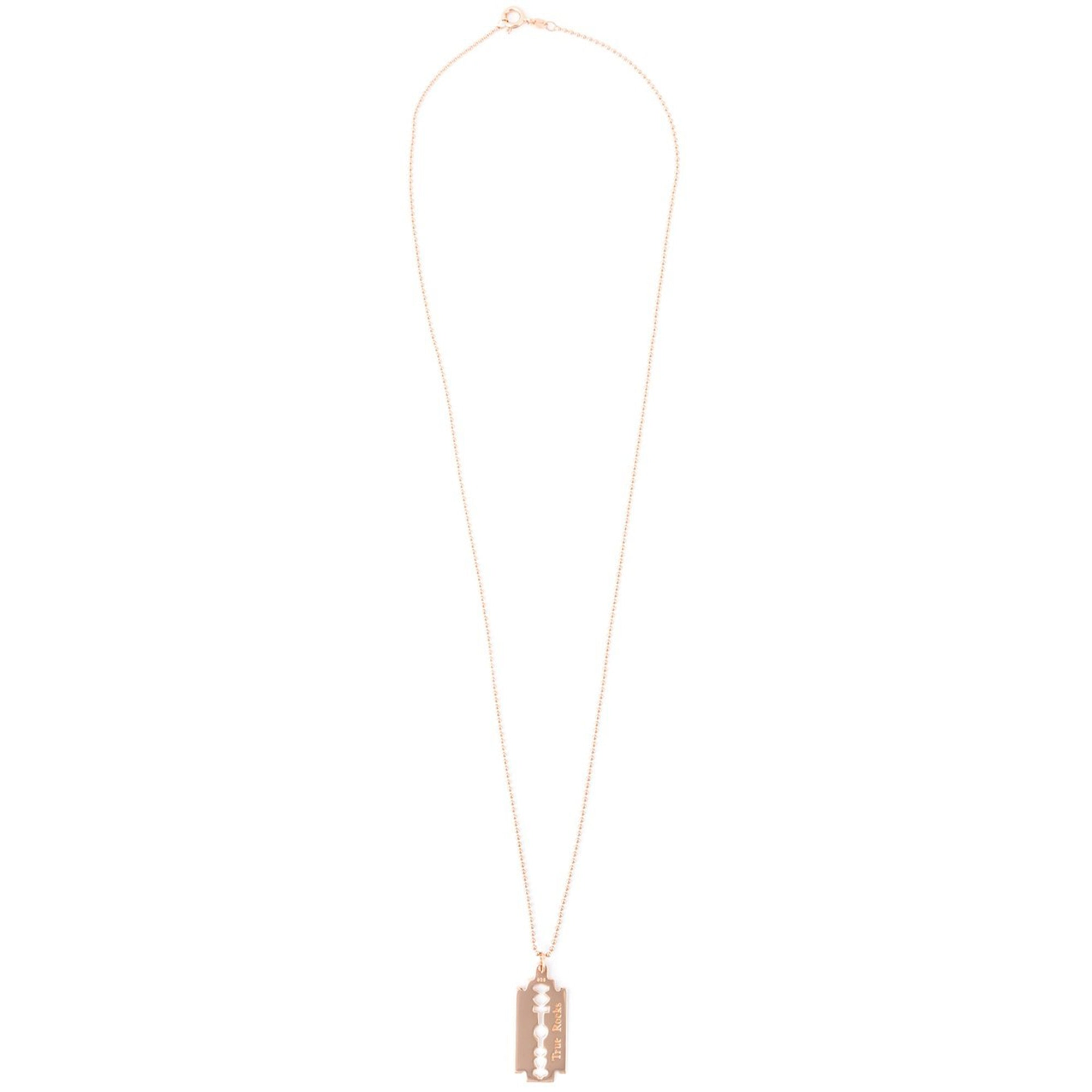 RAZOR PENDANT ROSE GOLD