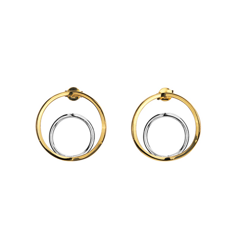 Soley Two Tone Earrings