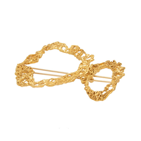 Steno Gold Hairpin