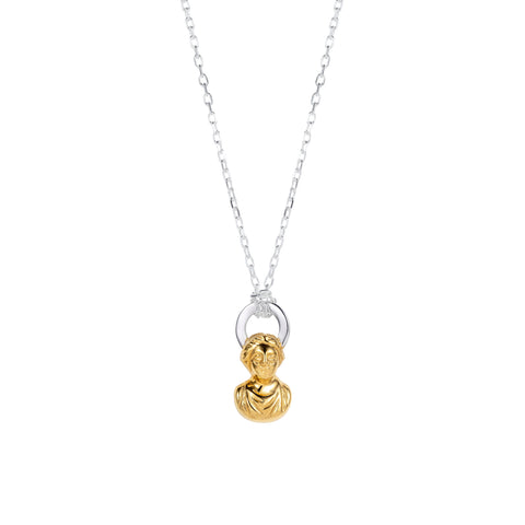 Halo Necklace Gold