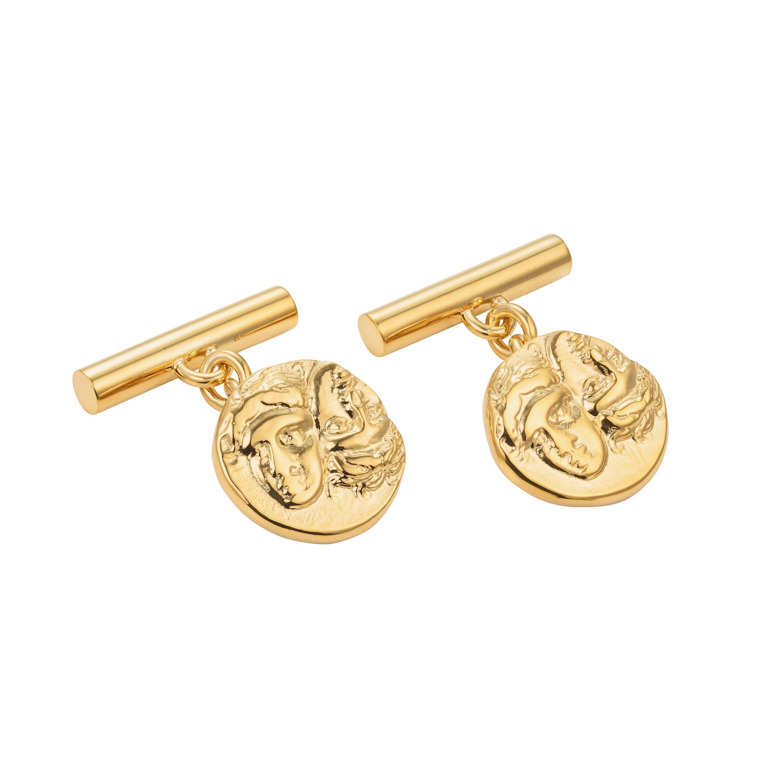 Istros Cufflinks Gold