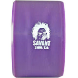 atom savant 93a purple quad skate wheel