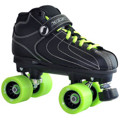 Black Vibe Rink Quad Skate Package