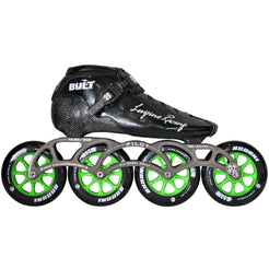 Luigino Bolt Pro Indoor Inline Skate Package