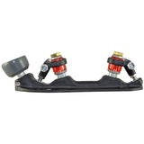 Pilot Raptor Plus Quad Plate with Bionic Super Stopper toe stop