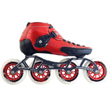 Luigino Strut Red Inline Skate Package