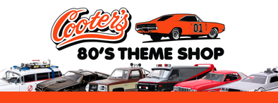 Cooter's is adding an 80's theme shop!