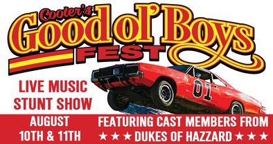 August 10th & 11th Cooter's Good Ol' Boys Fest in Shenandoah, VA