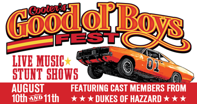 Star Studded Musical Lineup Coming to Cooter's Good Ol' Boys Fest