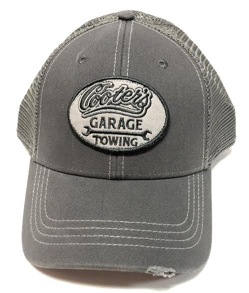 Cooter's Garage Towing Patch Trucker Hat