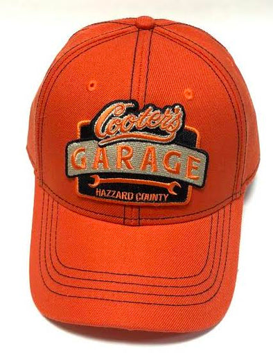 Cooter's Garage Orange Adjustable Hat - ht14