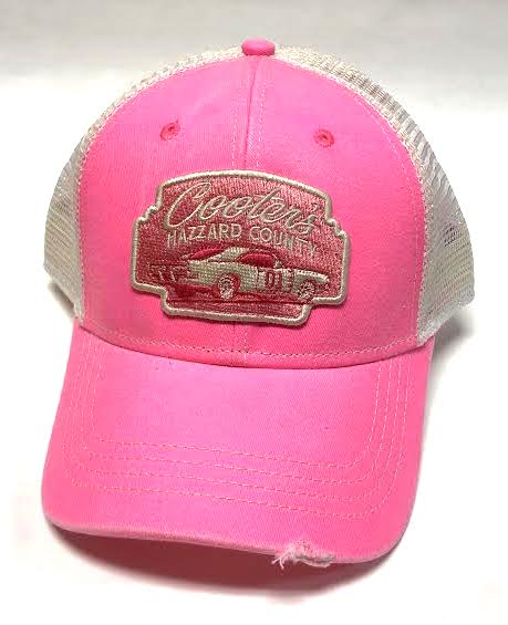 e18716b7a Cooter's HC General Lee Trucker Hat (Pink/White)
