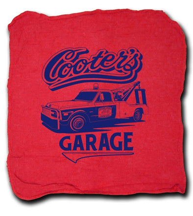 Cooter's Garage Tow Truck Shop Rag
