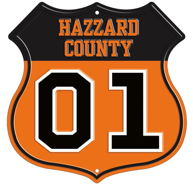 Hazzard County Road Sign