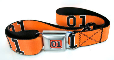 Seatbelt Style Belt Orange 01